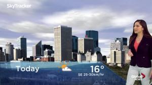Edmonton early morning weather forecast: Friday, May 17, 2019